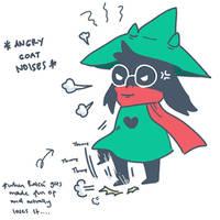 [Deltarune] angry Ralsei is angry by RyuuseiRissu