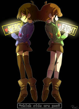 [Undertale] Which Side Are You?