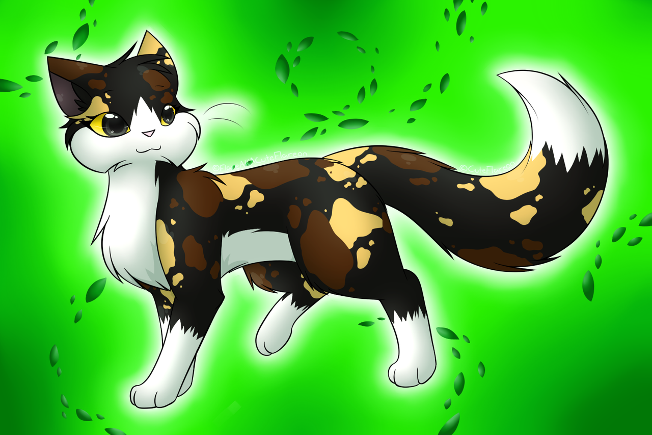 warrior cats coloring pages spottedleaf - photo#31