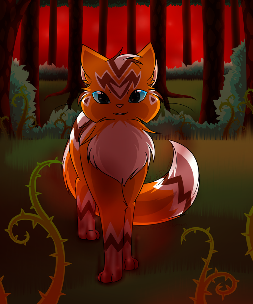 Welcome to the Dark Forest dear Brother by FlareAKACuteFlareon