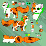 Mint - Reference sheet by CuteFlare
