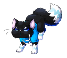 Semi-Chibi Commission for Soul-The-Bird by CuteFlare
