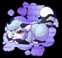 Semi-Chibi Wolf