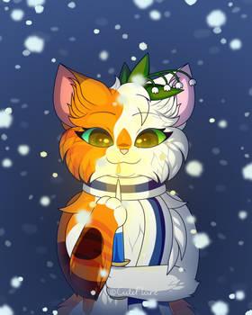 Candlelit snowflakes