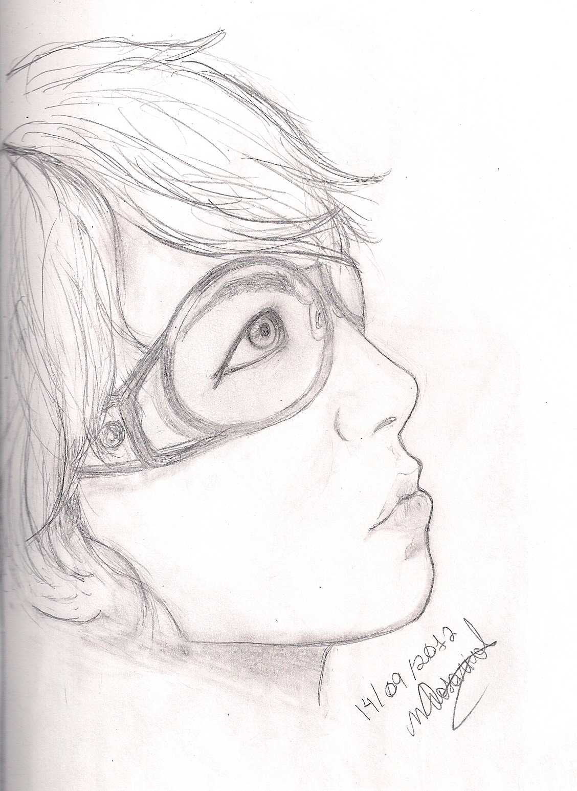 Uncategorized Picture Of Drawing attempt of drawing hide x japan by mcrosariol on deviantart mcrosariol