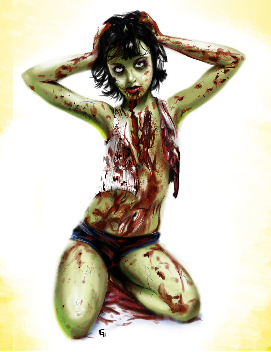 Pin up zombie by Greg0s
