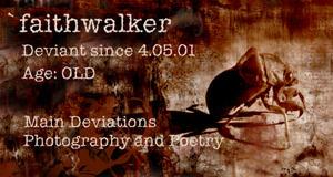 faithwalker's Profile Picture
