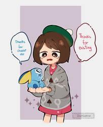 Pokemon - Choose me by Darklephise