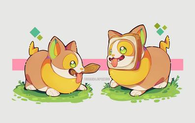 Pokemon - Yampian and Yampazenta