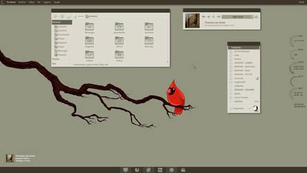 Mnml Desk by leonardomdq