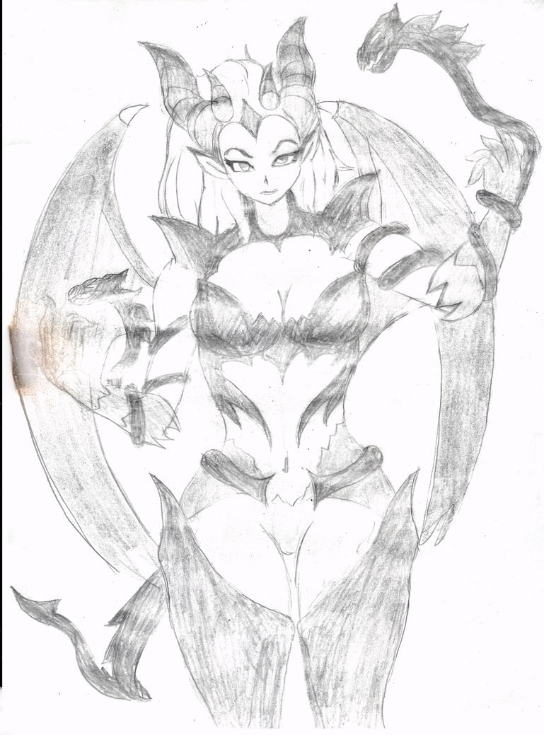 sketch 3 by LoneWolf119