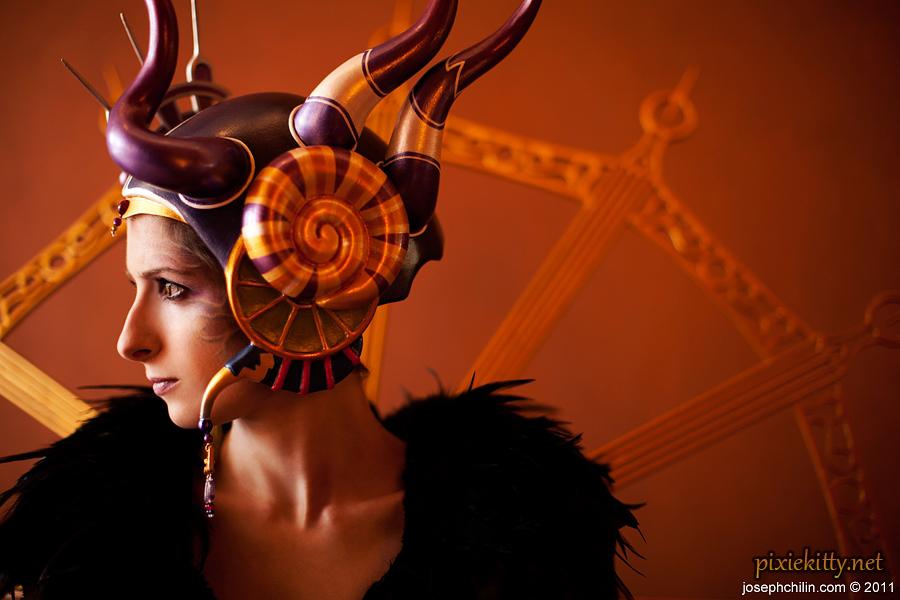Sorceress Edea Portrait by pixiekitty