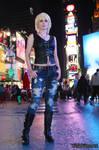 Aya Brea at Times Square