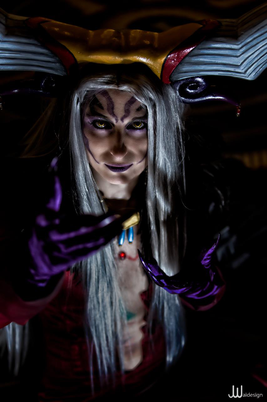 Evil Sorceress by pixiekitty