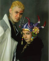 Seifer and Edea at Otakon 2005 by pixiekitty