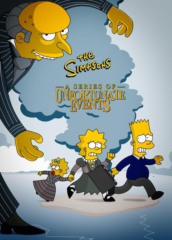 Simpsony Snicket by lizzy1e