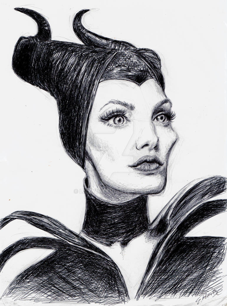 Maleficient by lizzy1e