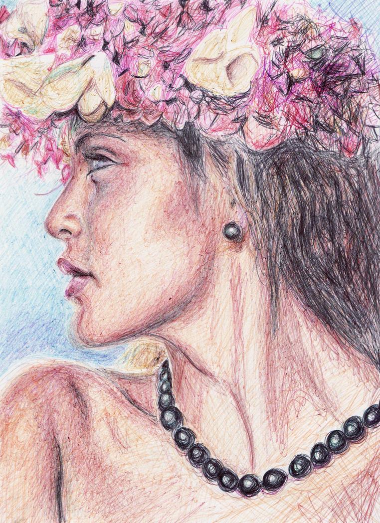 Polynesian Woman by lizzy1e