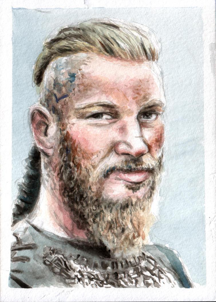 Ragnar Lodbrok by lizzy1e