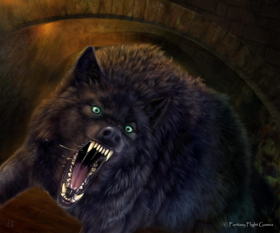 Dogs Like Dire Wolves
