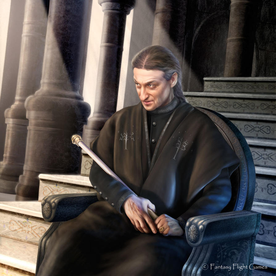 Lord of the Rings: Denethor by Thaldir