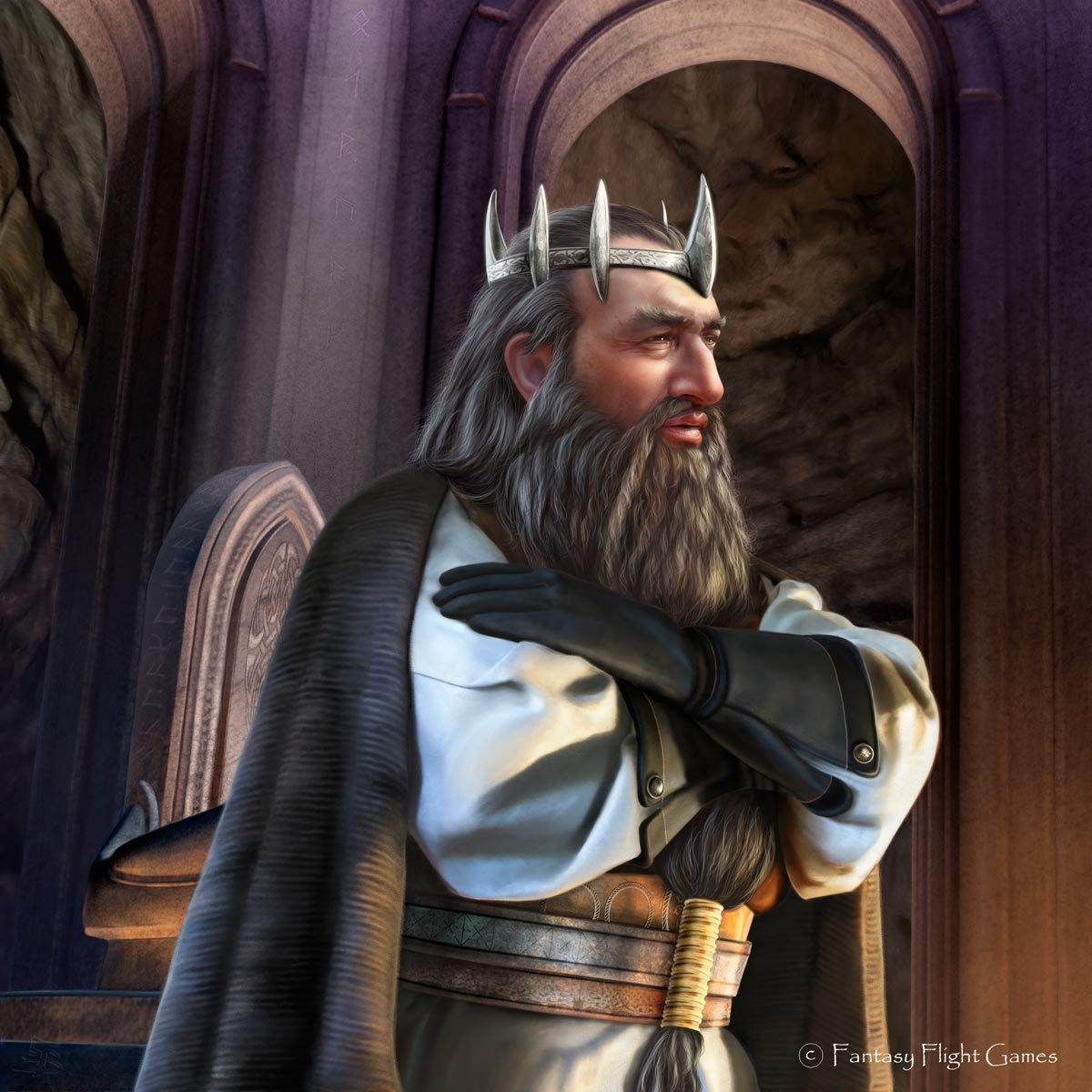 Lord of the Rings: Dain Ironfoot by Thaldir
