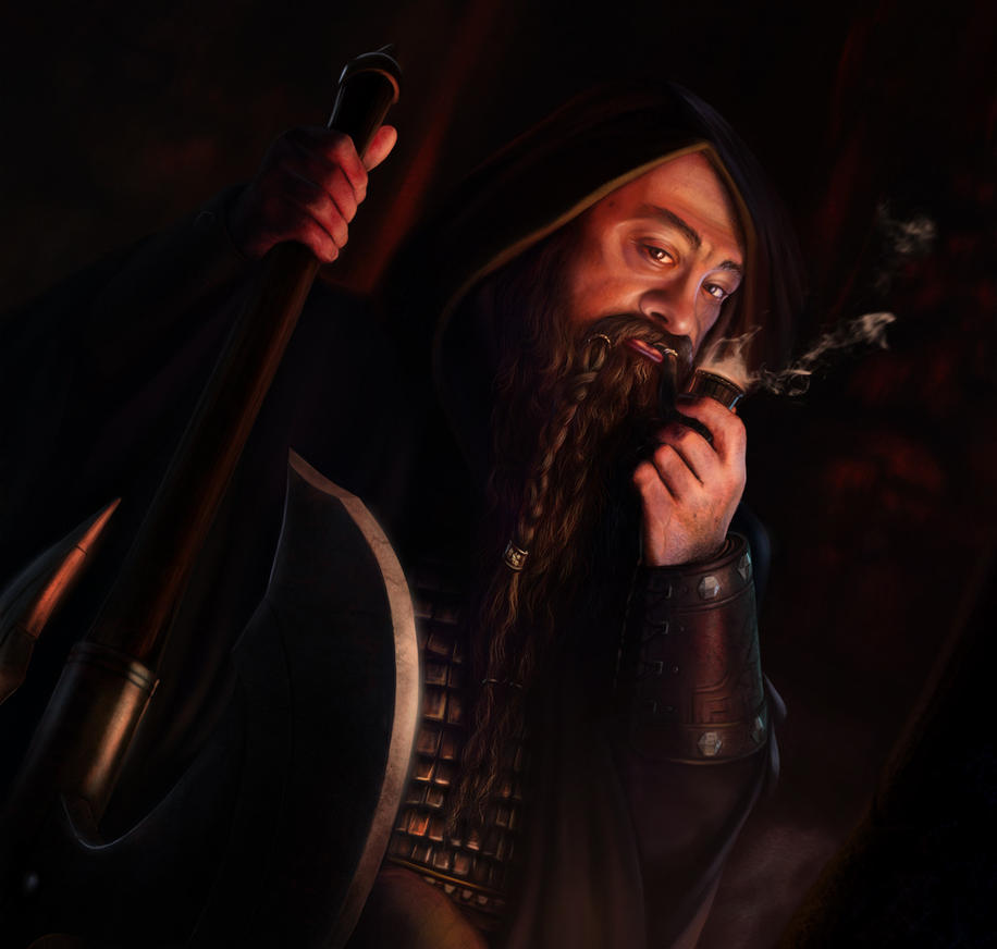 Lord of the Rings: Untroubled by Darkness by Thaldir