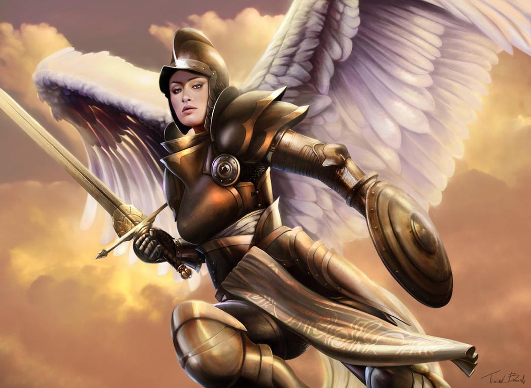 Tribute to Serra Angel by Thaldir