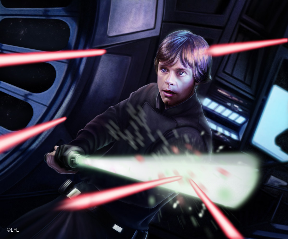 Star Wars LCG: Lightsaber Deflection by Thaldir
