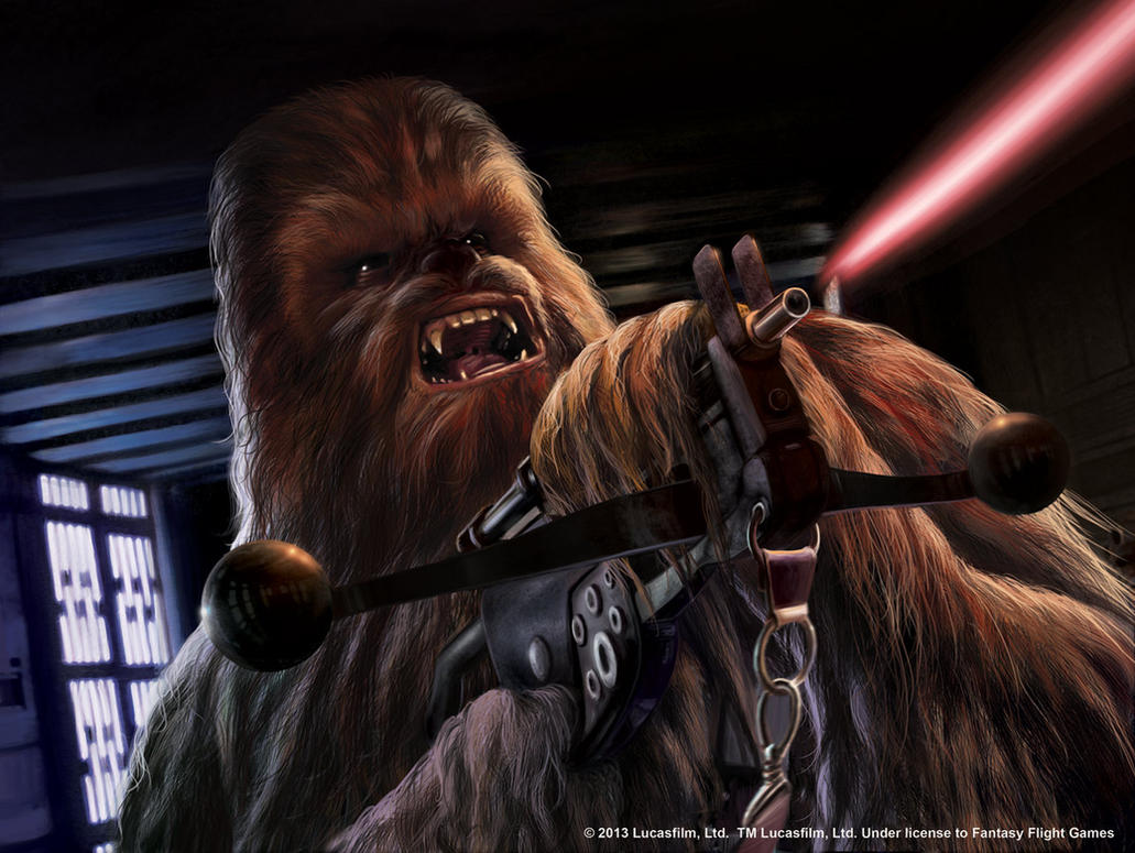 Star Wars LCG:  Chewbacca's Bowcaster by Thaldir