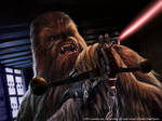 Star Wars LCG:  Chewbacca's Bowcaster