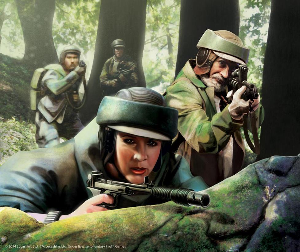 Star Wars: Leia's Command by Thaldir