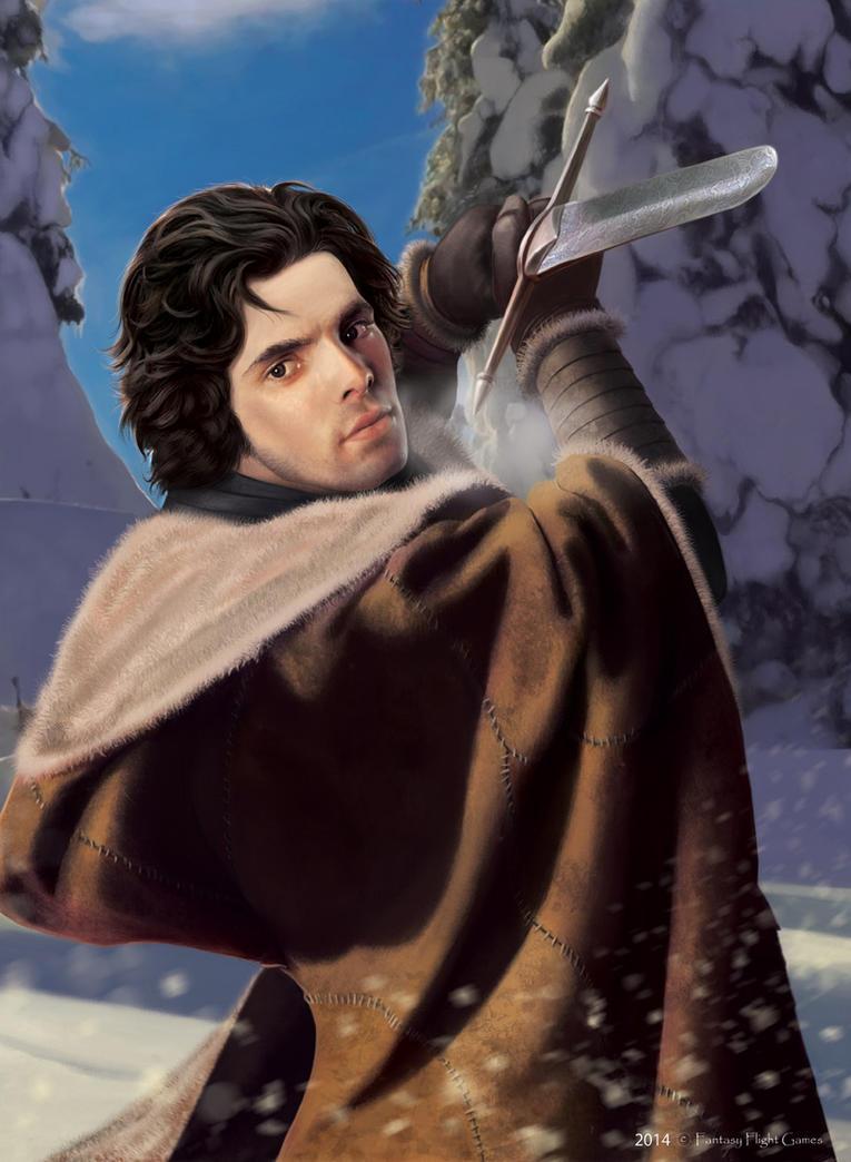 AGOT: Jon Snow by Thaldir