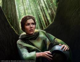 Star Wars LCG: Leia Organa by Thaldir