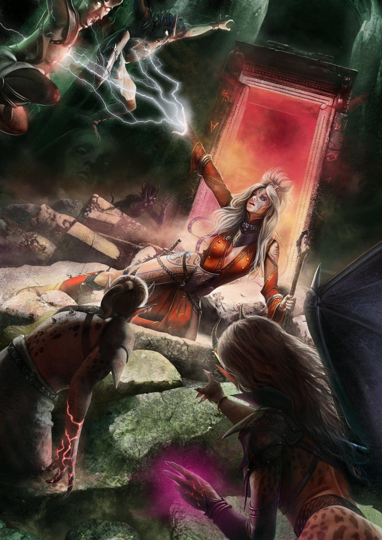 Seoni: Portal Escape by Thaldir