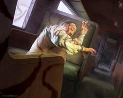 Arkham Horror LCG:  Helpless Passenger by Thaldir