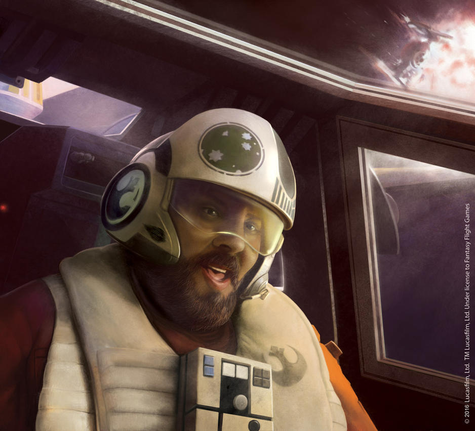 Star Wars Destiny: Snap Wexley by Thaldir
