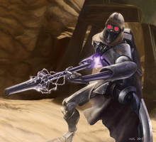 Star Wars Destiny: Electrostaff