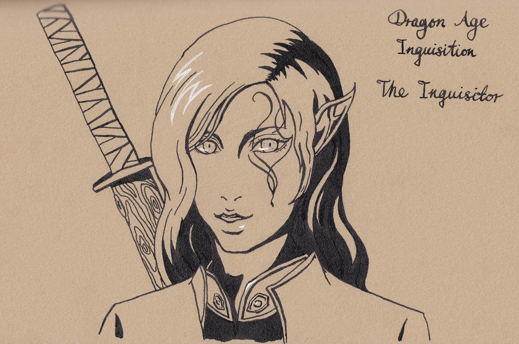Dragon Age Inquisition The Inquisitor by GiraffeMeow