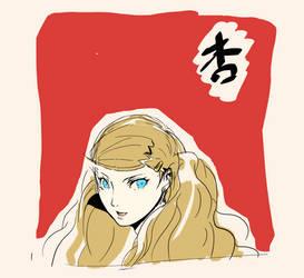 Persona 5 Ann Digital Drawing Practice by GiraffeMeow