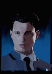 Connor from Detroit Become Human by GiraffeMeow