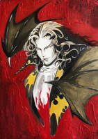 Dracula from Castlevania Study (includes tutorial) by GiraffeMeow