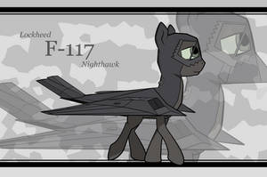Plane Pony F-117 Walking
