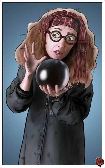 Prof. Trelawney by aneesah