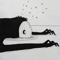 slumped by tripetalArt
