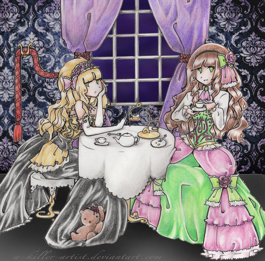 Contest Entry : Tea Time by A-Killer-Artist