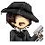 Pixel Icon : Mafia Dude by A-Killer-Artist