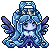 Pixel Commission : Riona, The ice queen by A-Killer-Artist