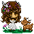 Pixel Commission : Fawn Lady by A-Killer-Artist
