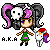 Pixel icon : Selfy Oc by A-Killer-Artist